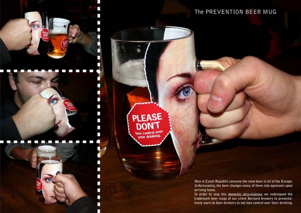 Por favor, no pierda el control sobre su forma de beber