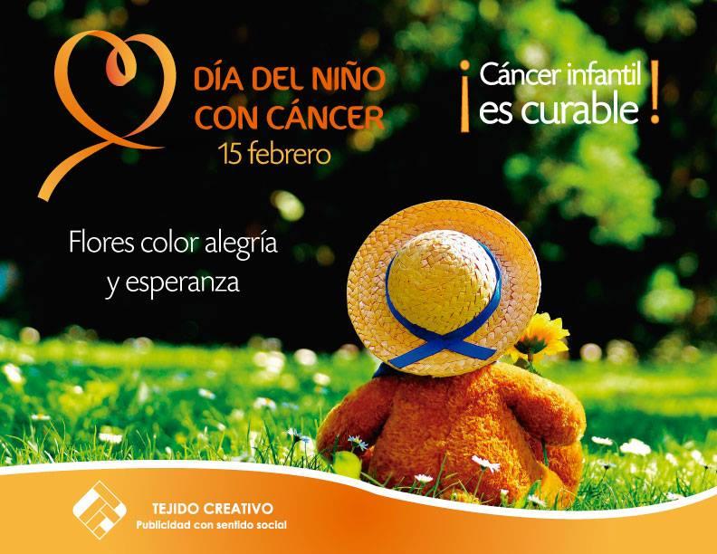 Día lucha contra el cáncer infantil